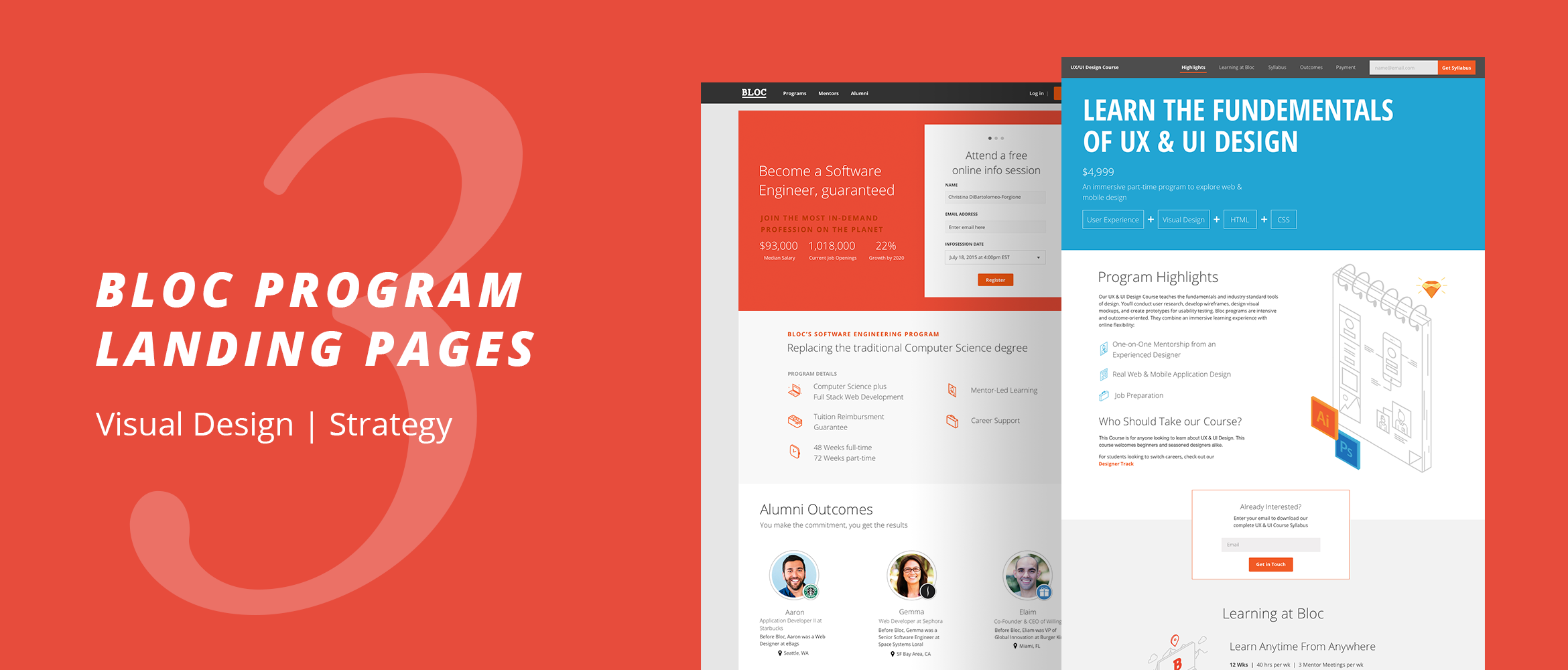 Bloc Landing Pages